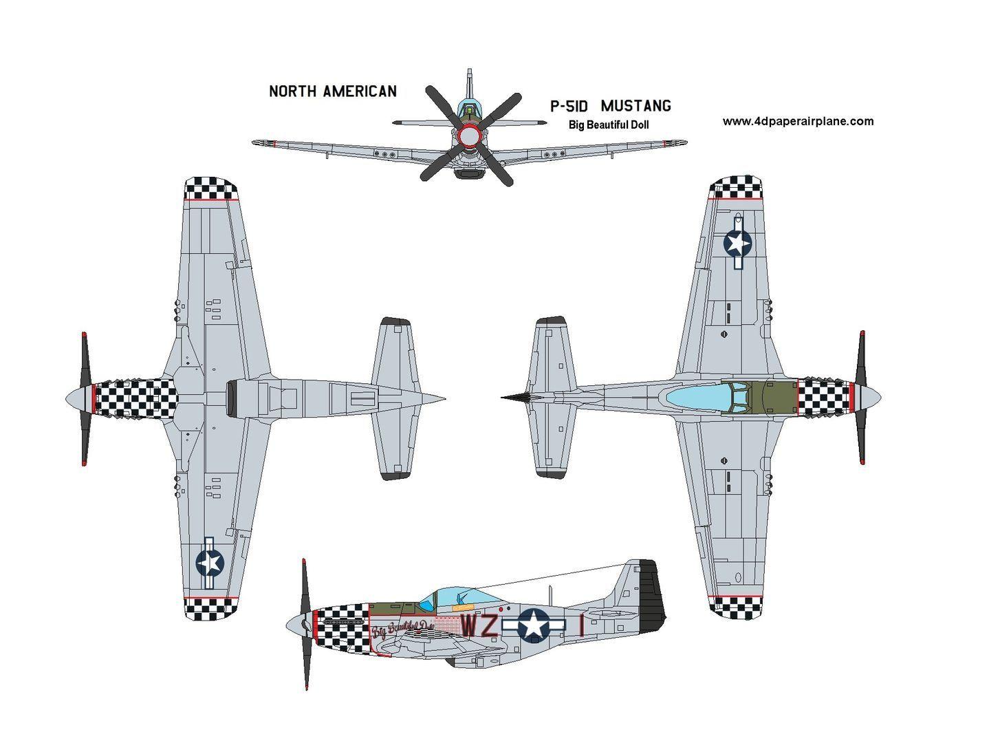 003 Beautiful Printable Paper Plane Plan Photo  Plans Airplane Free Design InstructionFull