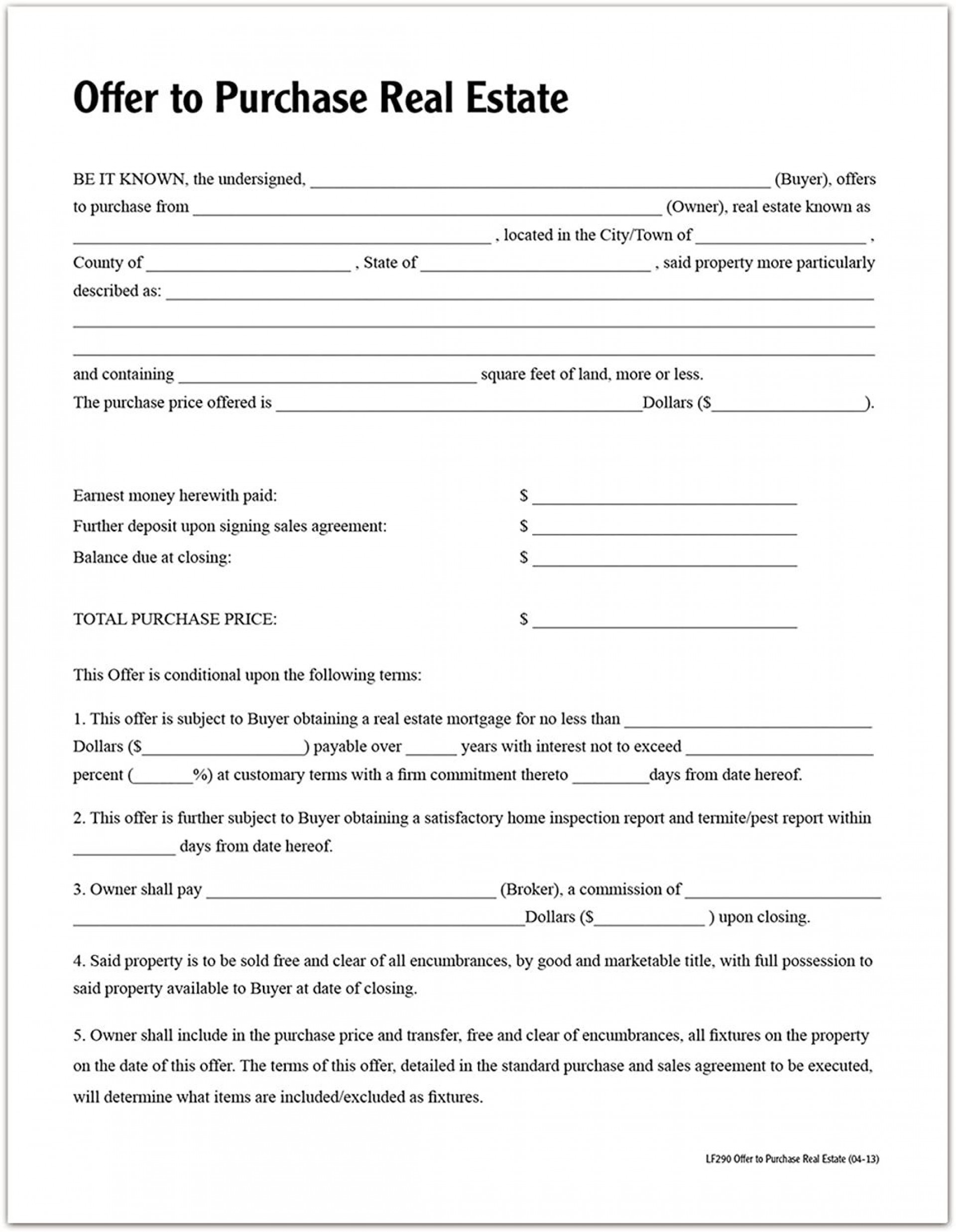 003 Beautiful Purchase Agreement Template Real Estate Highest Clarity  Pdf Sale New Brunswick1920