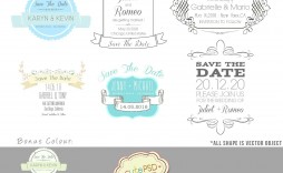 003 Beautiful Save The Date Word Template Concept  Free Birthday For Microsoft Postcard Flyer