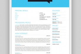 003 Beautiful Single Page Resume Template High Definition  Cascade One Free Download Word For Fresher