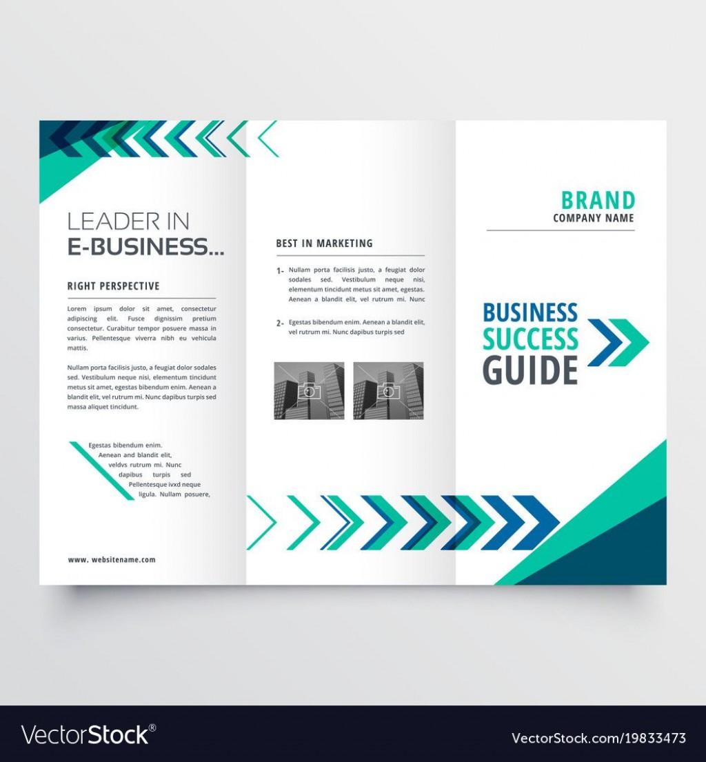 003 Beautiful Word Tri Fold Brochure Template Idea  2010 Microsoft M OfficeLarge