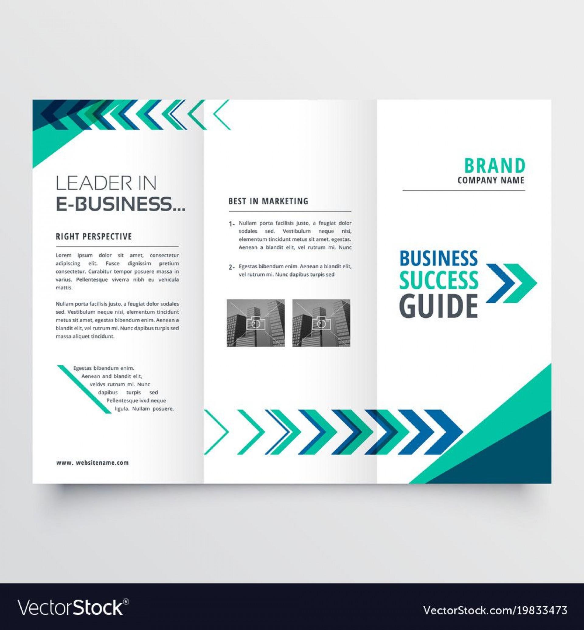 003 Beautiful Word Tri Fold Brochure Template Idea  2010 Microsoft M Office1920