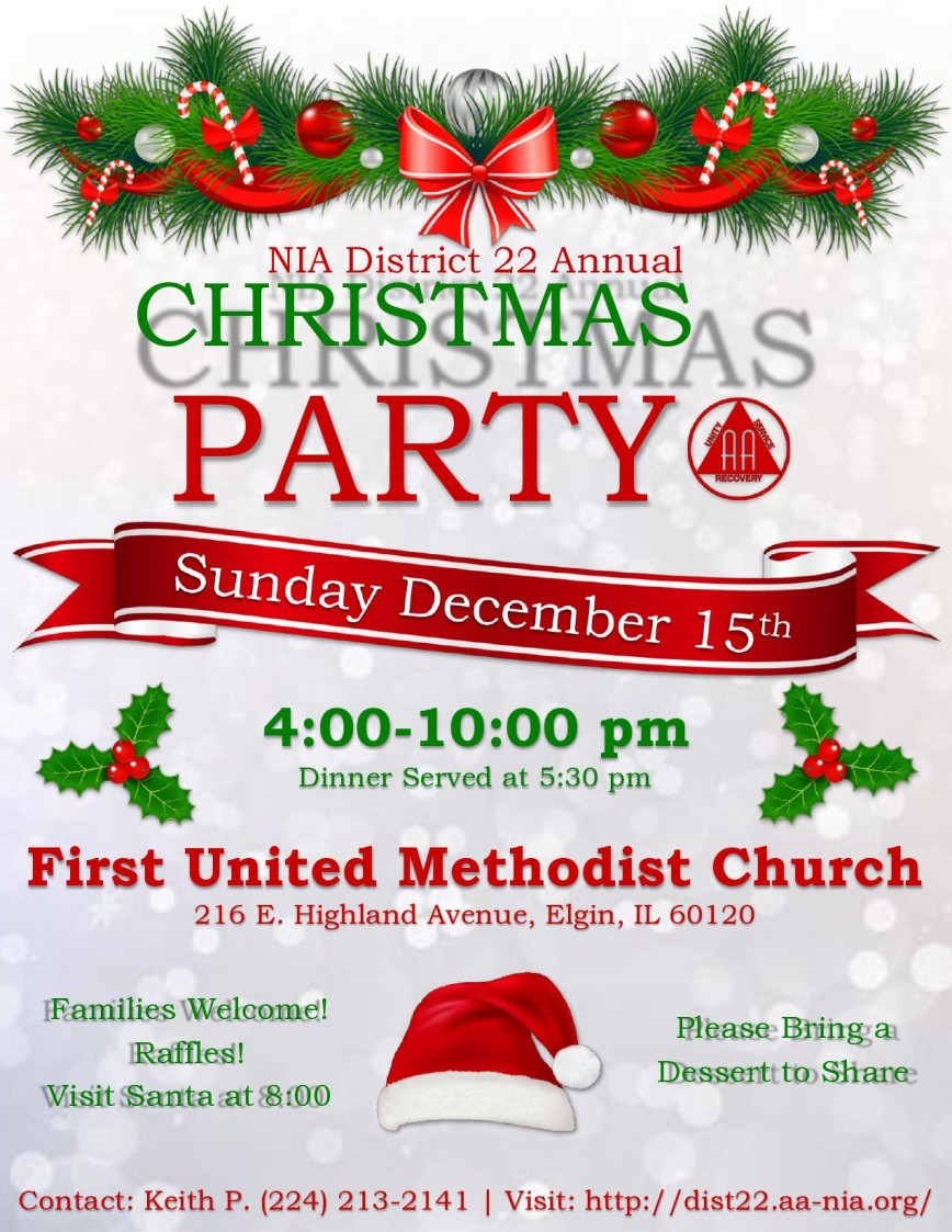 003 Best Free Christma Poster Template Concept  Uk Party Download Fair868