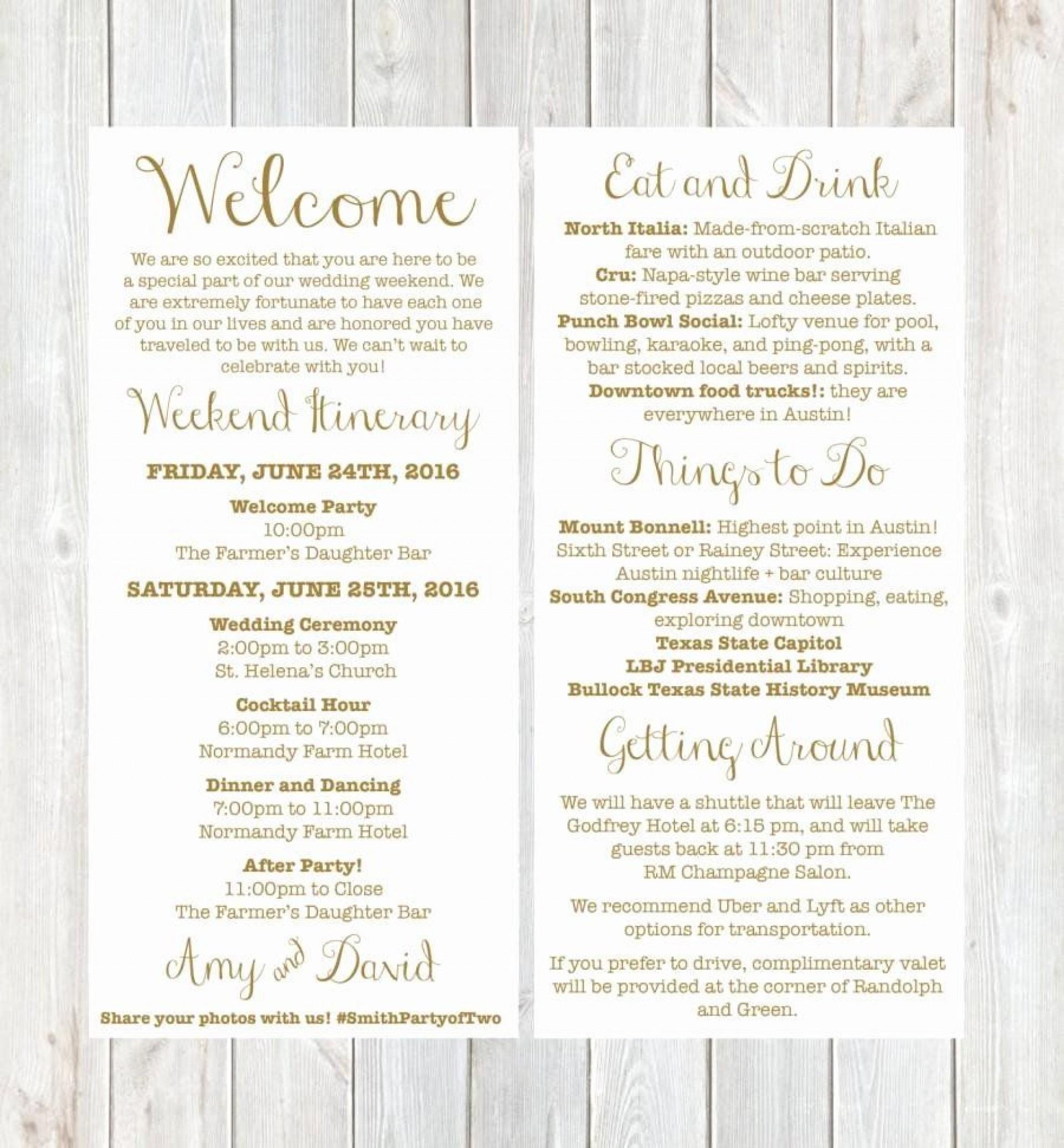 003 Best Free Destination Wedding Welcome Letter Template High Resolution 1920