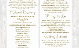 003 Best Free Destination Wedding Welcome Letter Template High Resolution