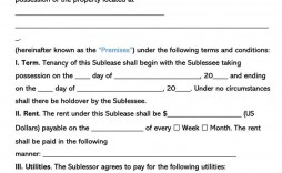 003 Best Free Sublease Agreement Template Pdf High Def  Room Rental Car Form Residential Lease