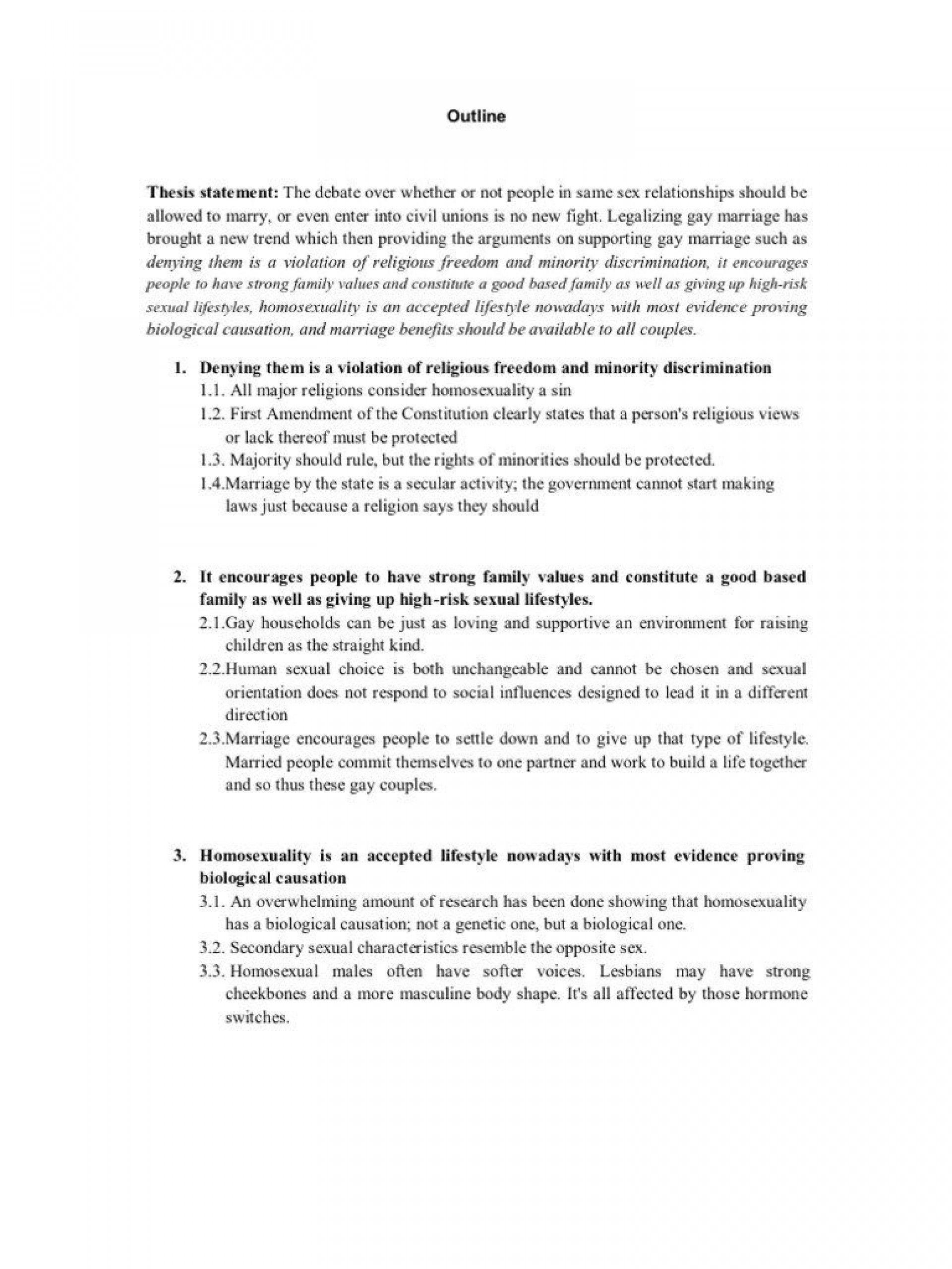 003 Best Gay Marriage Essay Concept  Example Clever Title For1920