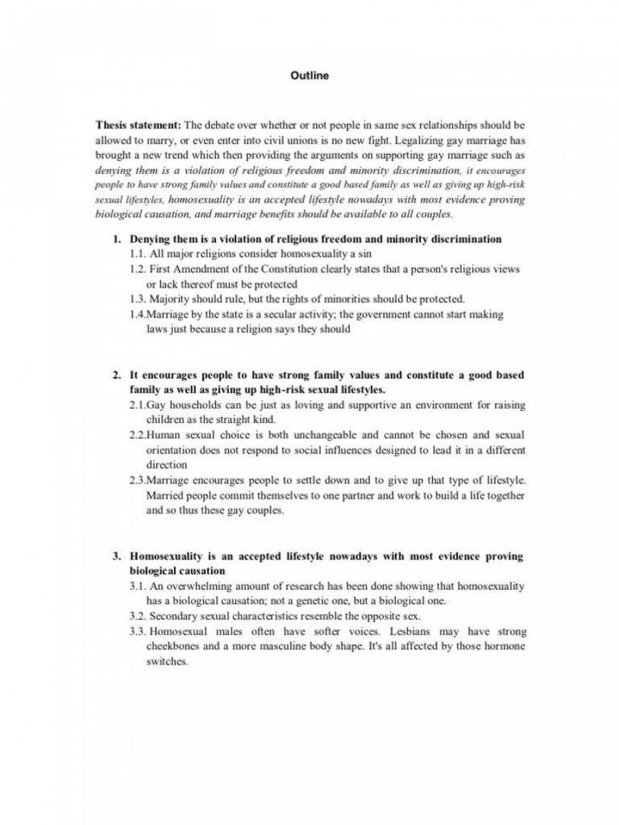 003 Best Gay Marriage Essay Concept  Thesi Statement Example 500 Word