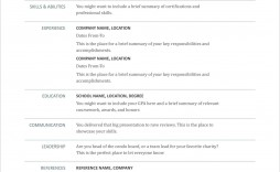 003 Best How To Create A Resume Template In Word 2020 Concept
