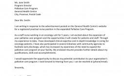 003 Best Nursing Cover Letter Template High Definition  New Grad Word School
