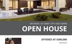 003 Best Open House Flyer Template Design  Templates Word Free Microsoft Real Estate