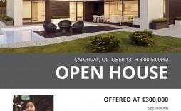 003 Best Open House Flyer Template Design  Templates Word Free School Microsoft