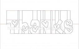 003 Best Pop Up Card Template Concept  3d Pdf Carousel Pattern Download