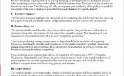 003 Best Restaurant Marketing Plan Template Free Download High Def