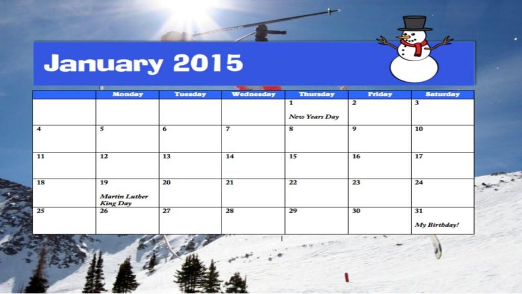 003 Breathtaking Calendar Template For Word 2007 Idea Large
