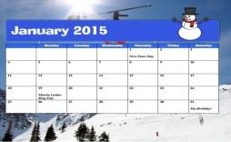 003 Breathtaking Calendar Template For Word 2007 Idea