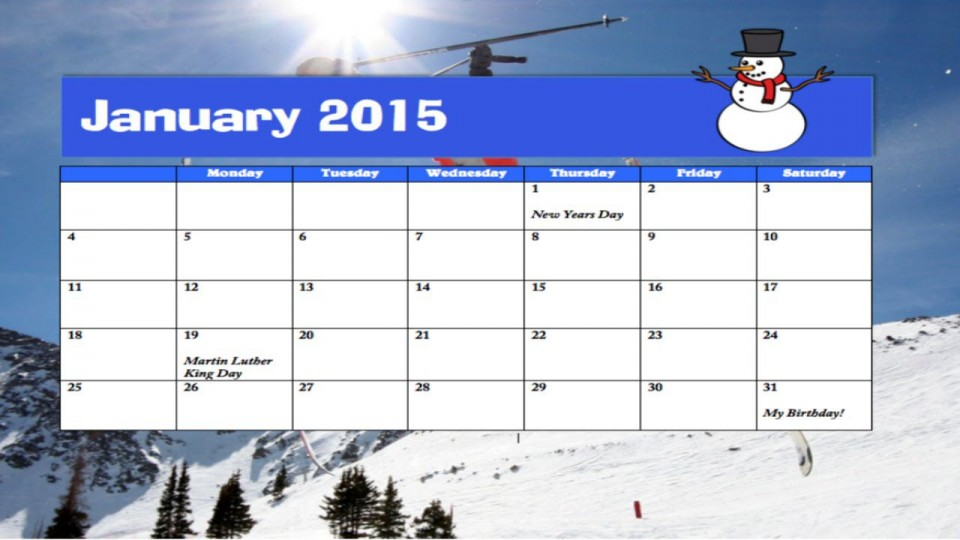 003 Breathtaking Calendar Template For Word 2007 Idea 960