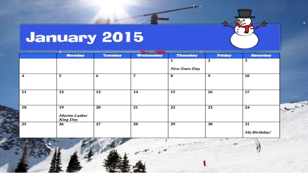 003 Breathtaking Calendar Template For Word 2007 Idea Full