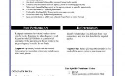 003 Breathtaking Capability Statement Template Free Sample  Word Editable Design