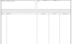 003 Breathtaking Commercial Invoice Template Excel Sample  Free Download