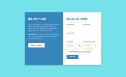 003 Breathtaking Free Html Form Template High Def  Templates Survey Application Download Registration