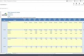 003 Breathtaking Line Item Budget Template Excel Design