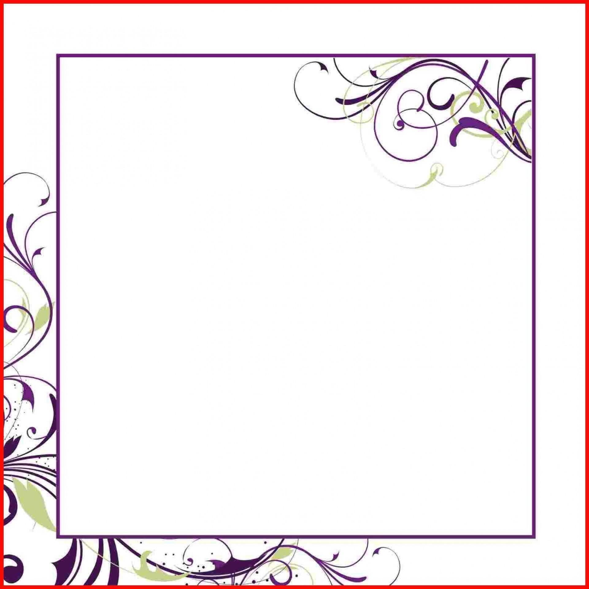 003 Breathtaking Microsoft Word Wedding Invitation Template Free Download Sample  M Editable1920