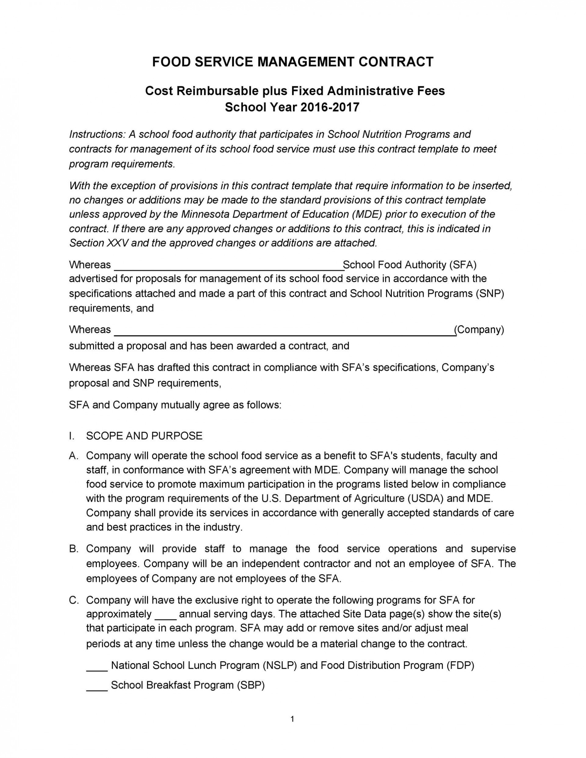 003 Breathtaking Property Management Contract Example Idea  Sample Agreement Form Template Pdf1920