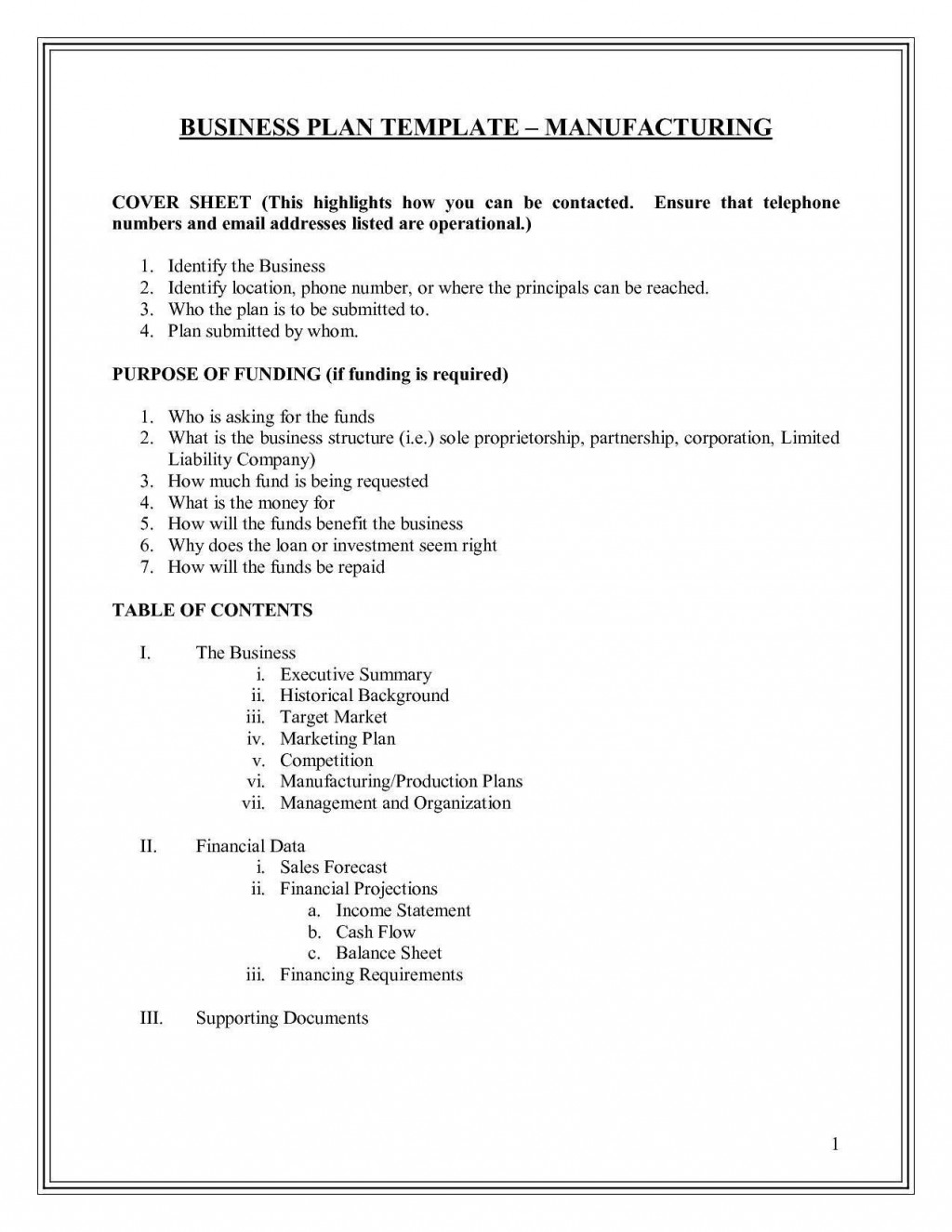 003 Breathtaking Small Busines Plan Template Free Example  Printable South Africa SimpleLarge