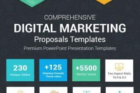003 Breathtaking Social Media Proposal Template Ppt Inspiration