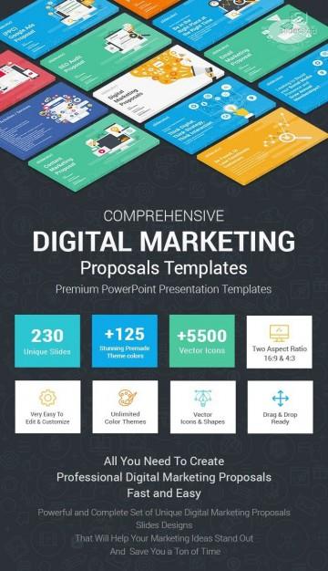 003 Breathtaking Social Media Proposal Template Ppt Inspiration 360