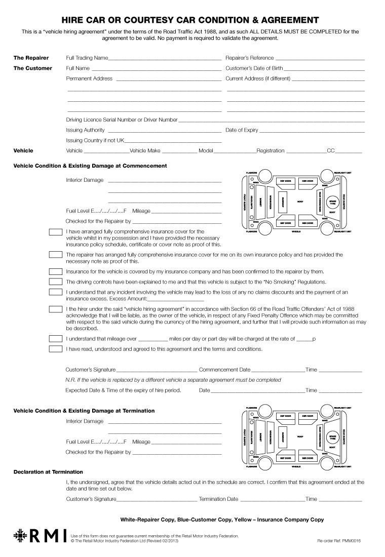 003 Breathtaking Template For Car Hire Agreement Picture Full