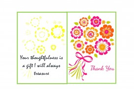 003 Breathtaking Thank You Note Template Free Printable Highest Quality