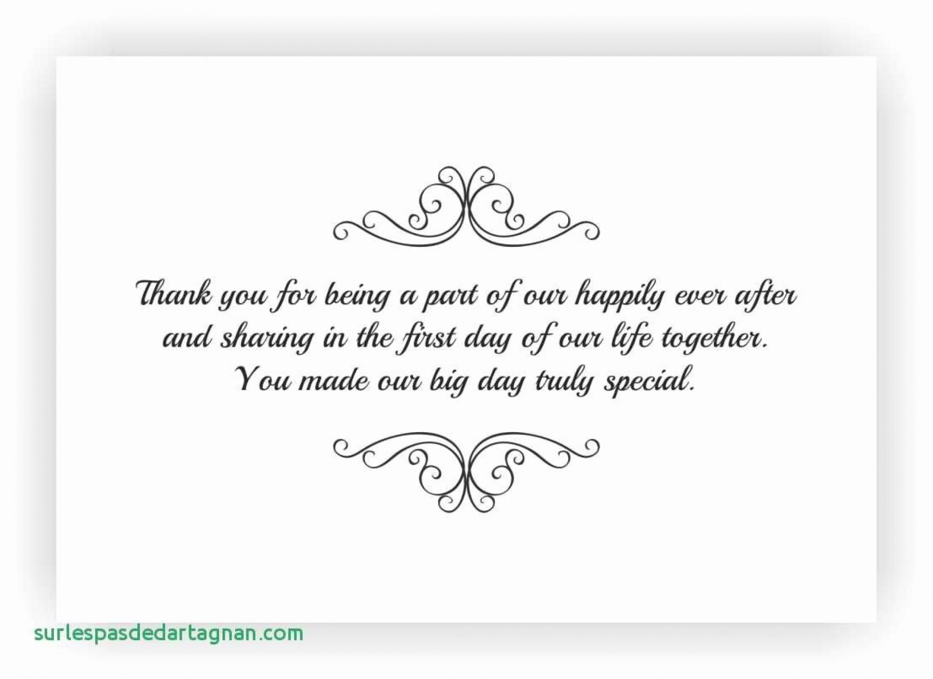 003 Breathtaking Thank You Note Template Wedding Money High Resolution  Card Example For Sample Cash Gift1920