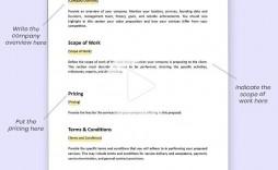 003 Breathtaking Web Design Proposal Template Free  Freelance Download