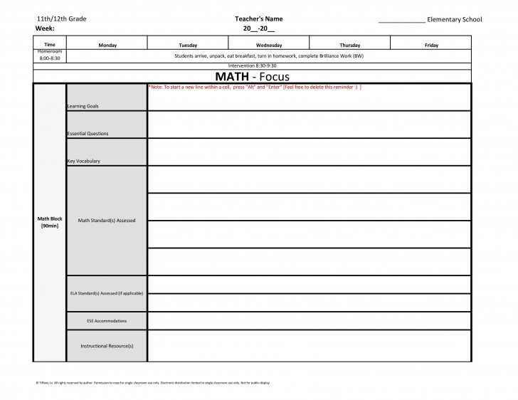 003 Breathtaking Weekly Lesson Plan Template Highest Quality  Preschool Google Doc Editable728