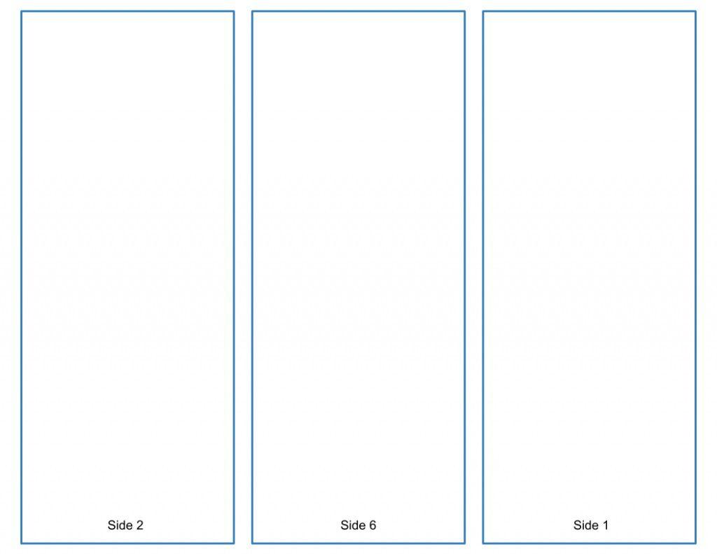 003 Dreaded Brochure Template For Google Doc Photo  Docs Free 3 Panel Tri FoldFull