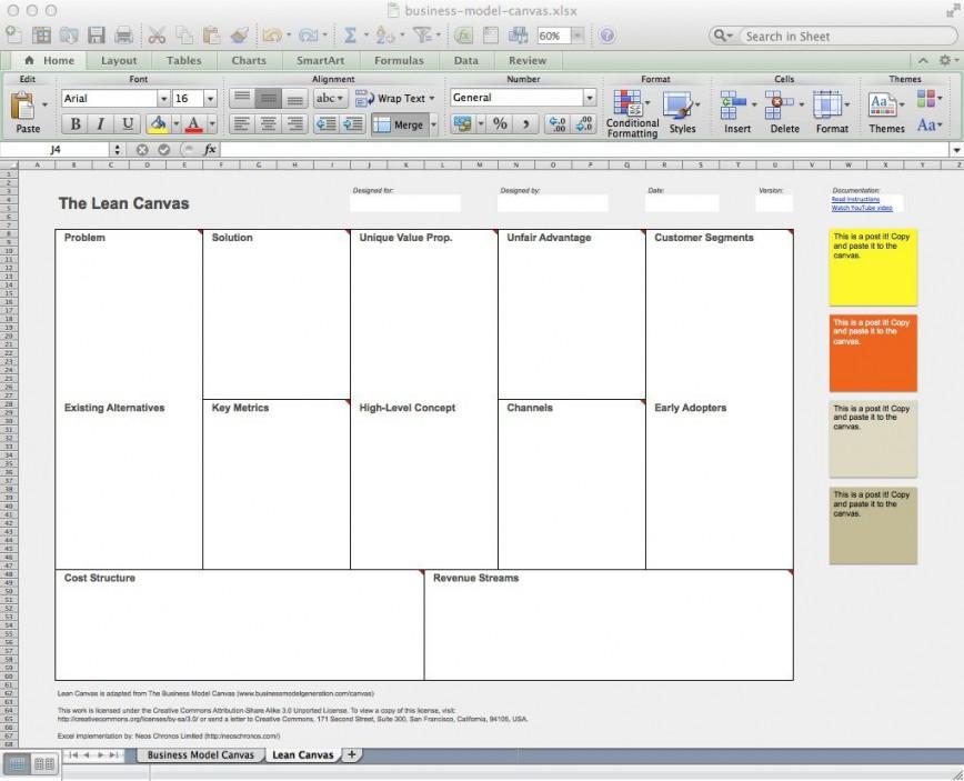 003 Dreaded Busines Model Canva Template Word High Def  Strategyzer Free Download Nederland