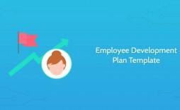 003 Dreaded Employee Development Plan Template Photo  Ppt Free
