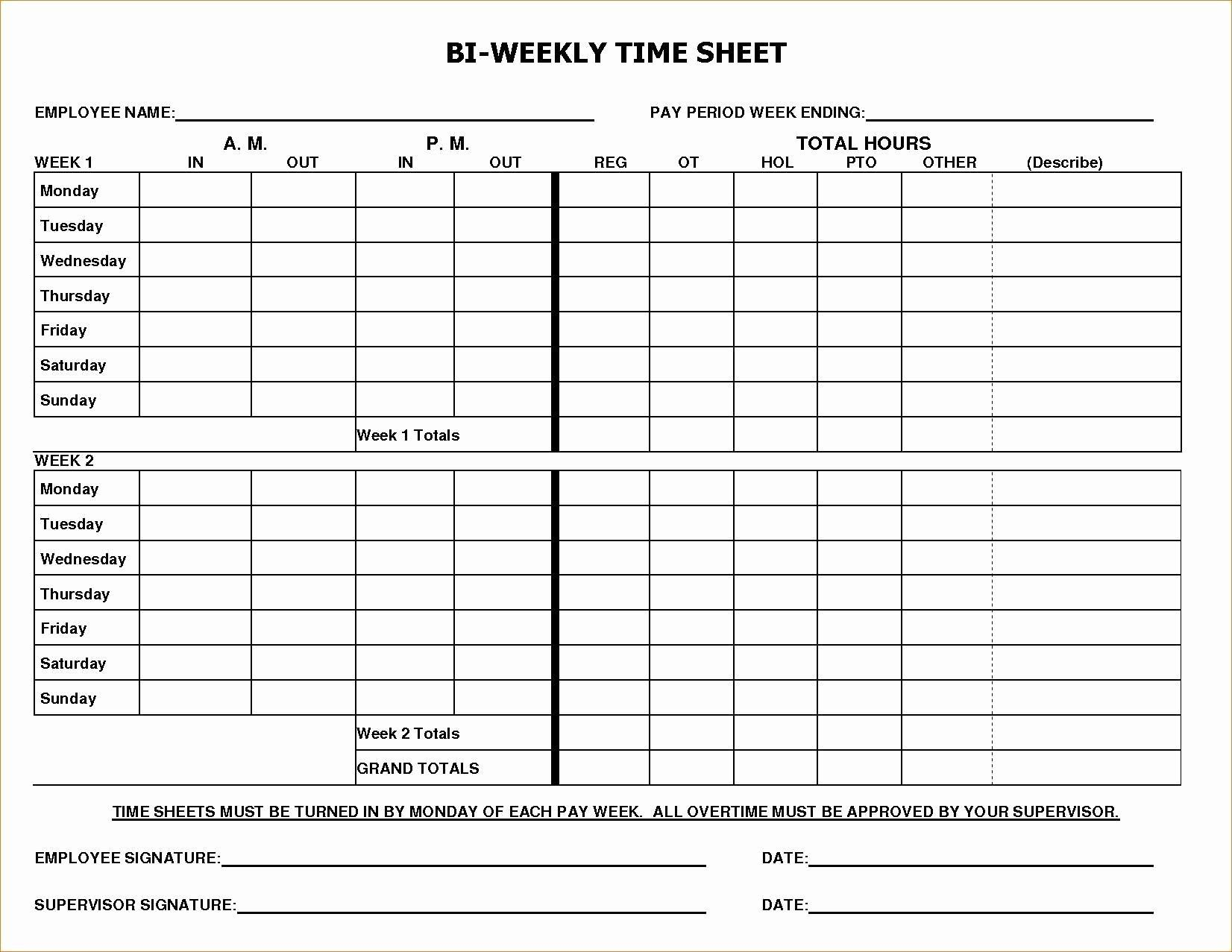 003 Dreaded Employee Time Card Form Image  Timesheet Template Excel Sheet FreeFull