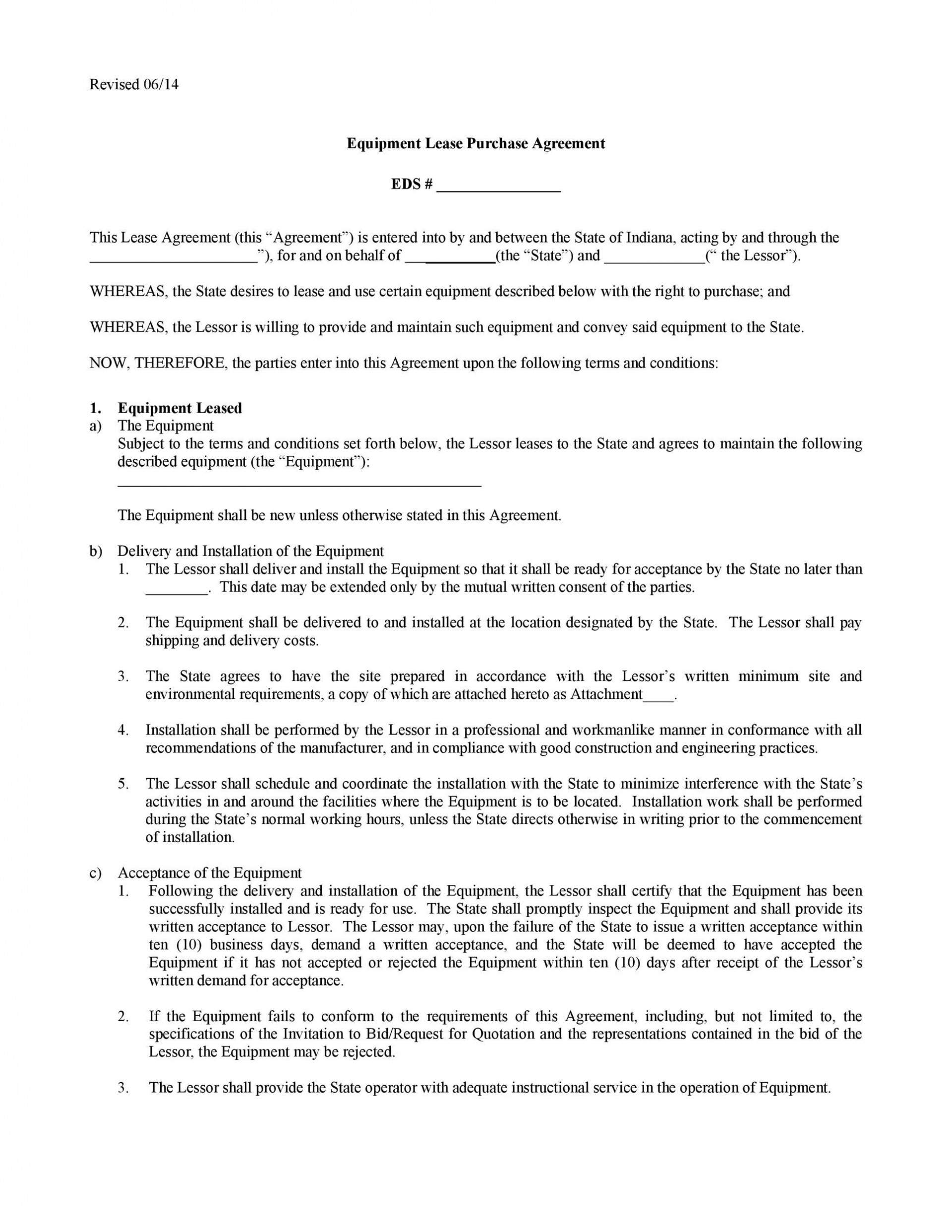 003 Dreaded Equipment Lease Contract Template Free High Definition  Agreement Word1920