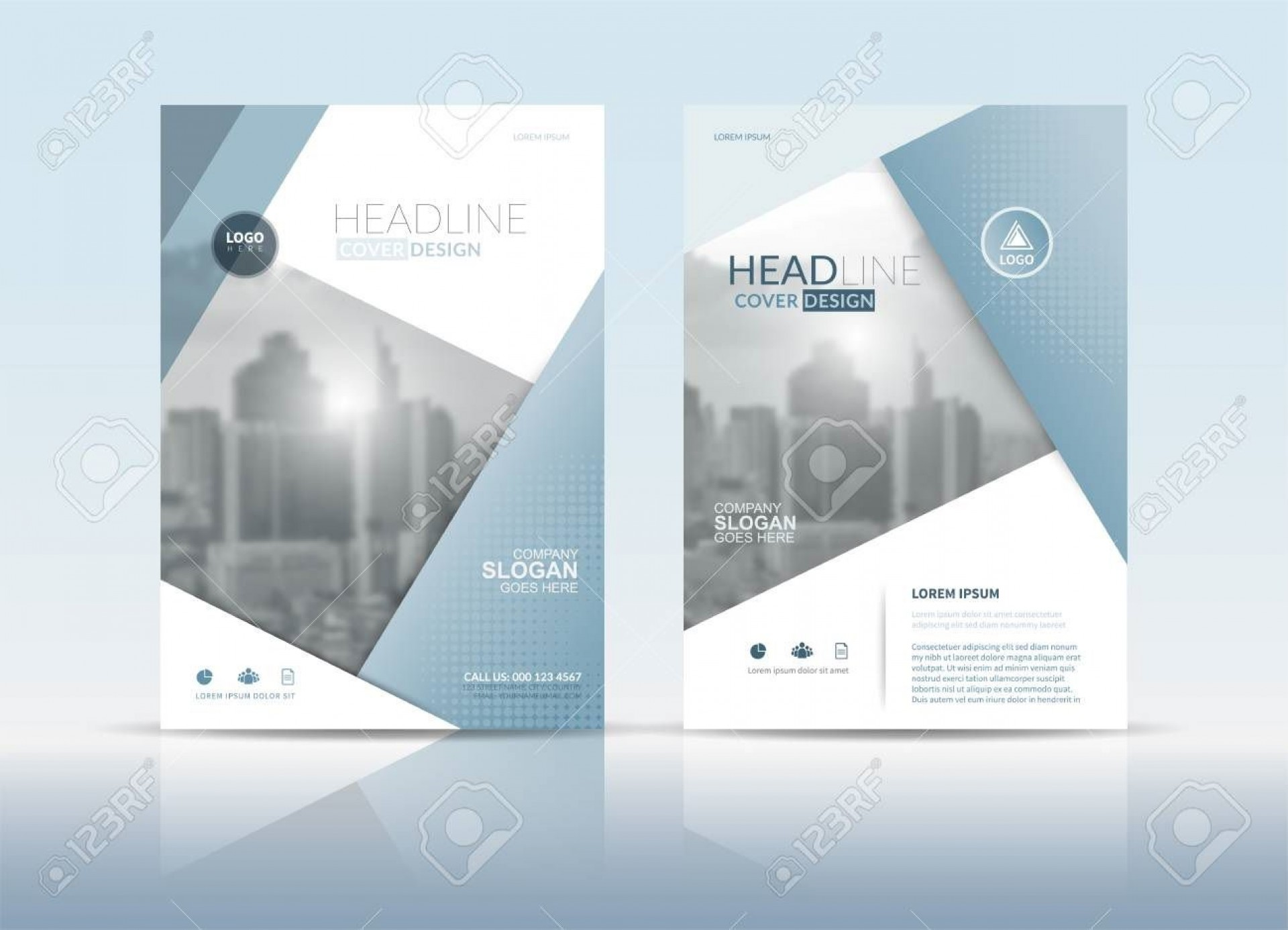 003 Dreaded Free Download Annual Report Cover Design Template Inspiration  In Word Page1920