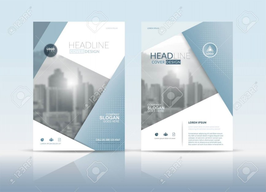 003 Dreaded Free Download Annual Report Cover Design Template Inspiration  In Word Page868