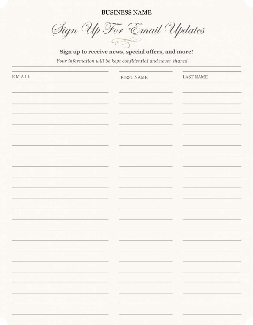 003 Dreaded Free Sign Up Sheet Template Sample  Printable Potluck Christma For Pdf