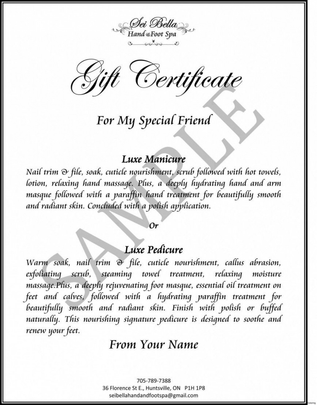 003 Dreaded Free Silent Auction Gift Certificate Template High Def Large