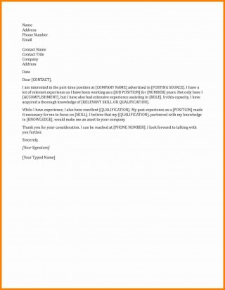 003 Dreaded Generic Cover Letter For Resume Photo  General Example320