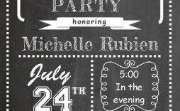 003 Dreaded Going Away Party Invitation Template Example  Free Printable