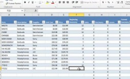 003 Dreaded Microsoft Excel Inventory Template Free Download Sample