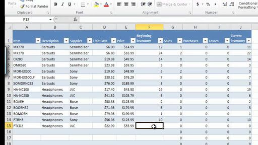 003 Dreaded Microsoft Excel Inventory Template Free Download Sample Full