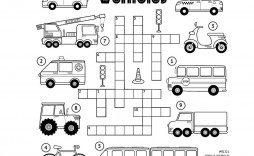 003 Dreaded Printable Crossword Puzzle For Kid Concept  Kids